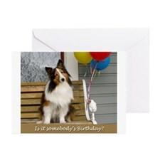 Is it somebodys birthday? Greeting Cards (Pk of 10