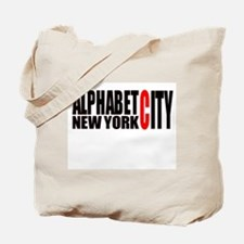 Alphabet City NYC Tote Bag
