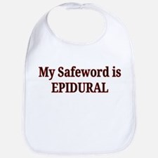Maternity Safeword Bib