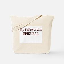 Maternity Safeword Tote Bag