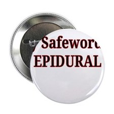 "Maternity Safeword 2.25"" Button"