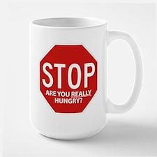 Step Away From The Refrigerator Large Mug