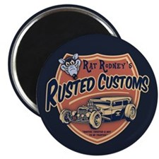 Rusted Customs II Magnet