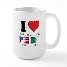 USA-ALGERIA Mug