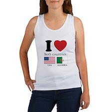 USA-ALGERIA Women's Tank Top