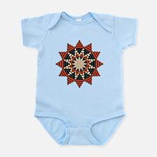 Native American Sunburst Rosette Infant Bodysuit