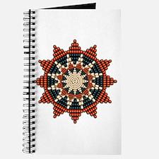 Native American Sunburst Rosette Journal