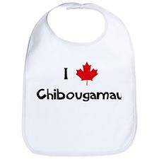 I Love Chibougamau Bib
