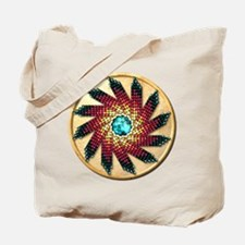 Native American Rosette 17 Tote Bag