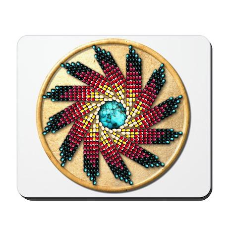 Native American Rosette 17 Mousepad