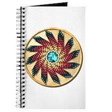 Native American Rosette 17 Journal
