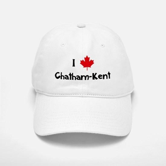 I Love Chatham-Kent Baseball Baseball Cap