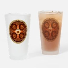 Celtic Medallion - Copper Drinking Glass
