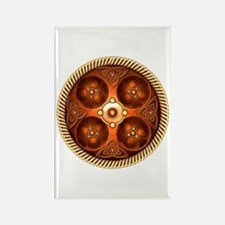 Celtic Medallion - Copper Rectangle Magnet