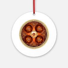 Celtic Medallion - Copper Ornament (Round)