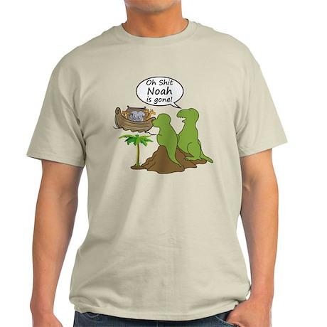 Oh Shit, Noah is Gone Light T-Shirt