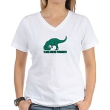 T-Rex Trying Pushups Shirt