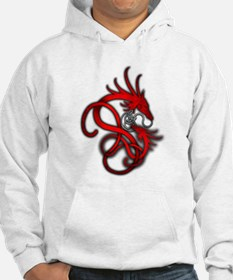 Norse Dragon - Red Jumper Hoody