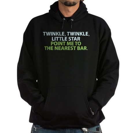 Twinkle Twinkle Little Star Hoodie (dark)