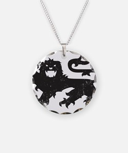 Heraldry Lion Necklace