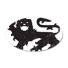 Heraldry Lion Wall Decal