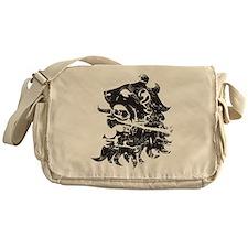Heraldry Lion Messenger Bag
