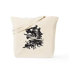 Heraldry Lion Tote Bag