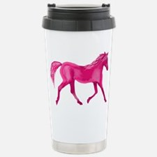 Pink Horse Travel Mug