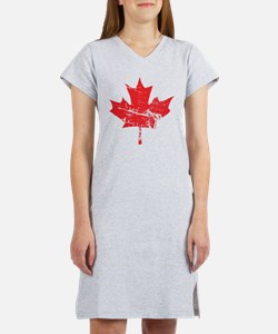 Maple Leaf Women's Nightshirt