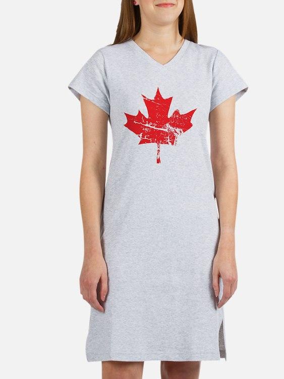 Maple Leaf Women's Nightshirt