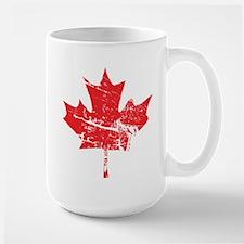 Maple Leaf Ceramic Mugs