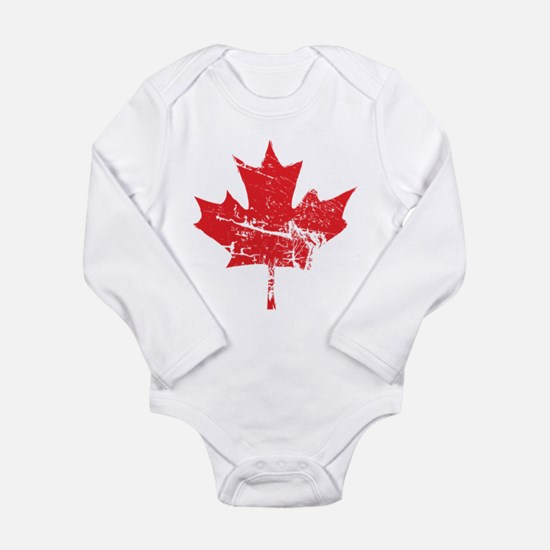 Maple Leaf Onesie Romper Suit