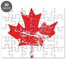 Maple Leaf Puzzle