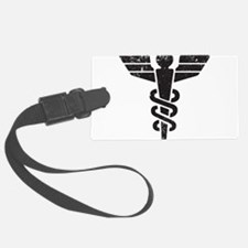 Caduceus Luggage Tag