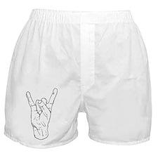 Horns Up Boxer Shorts