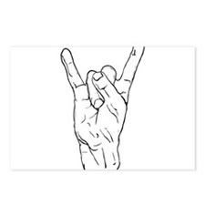 Horns Up Postcards (Package of 8)