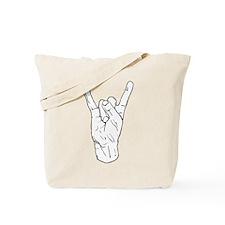 Horns Up Tote Bag