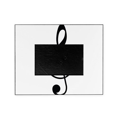 Music Note Picture Frame by AwesomeGiftIdeas