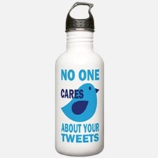 No One Cares About Your Tweets Water Bottle
