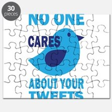 No One Cares About Your Tweets Puzzle