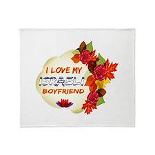 Israeli Boyfriend designs Throw Blanket