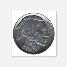 The Indian Head Nickel Sticker