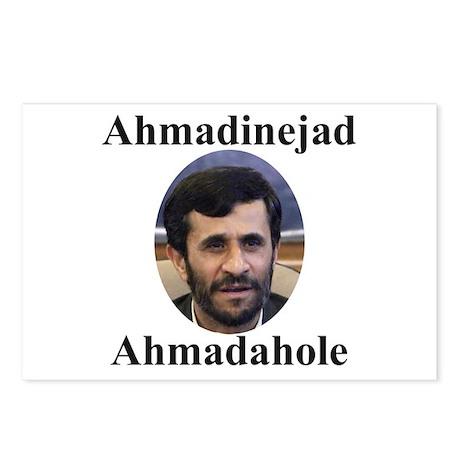Ahmadinejad Ahmadahole Postcards (Package of 8)