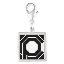 OCP Silver Square Charm