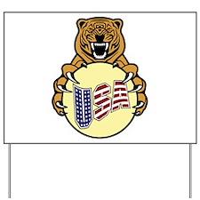 USA Lion Yard Sign