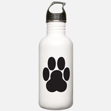 Paw Print Sports Water Bottle