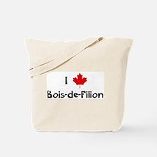 I Love Bois-de-Filion Tote Bag
