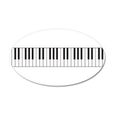 Piano Keys Wall Sticker