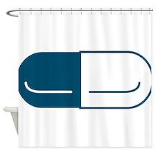 Pill Shower Curtain