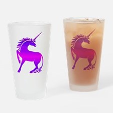 Unicorn Drinking Glass